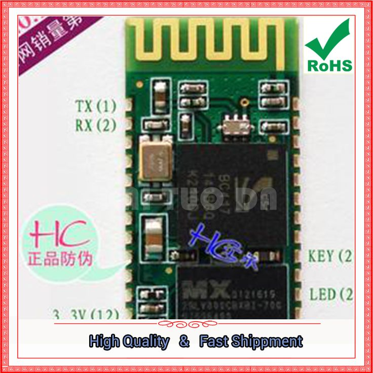 Free Shipping 3pcs (slave) HC-06 Bluetooth serial port module Bluetooth serial port adapter Bluetooth to serial port board #Affiliate