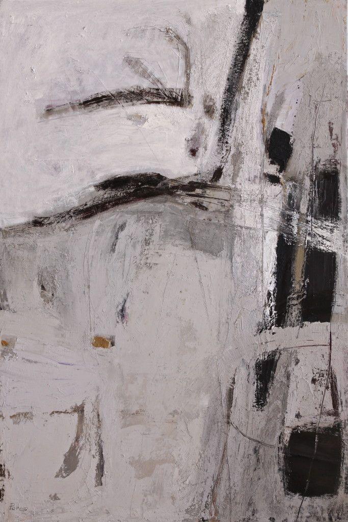 La linea oscura II - 2014 - olio su tela - cm 120 x 80