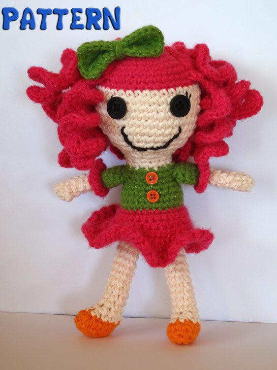 PDF Pattern Lalaloopsy Inspired Crocheted by TheEnchantedLadybug, $4.95