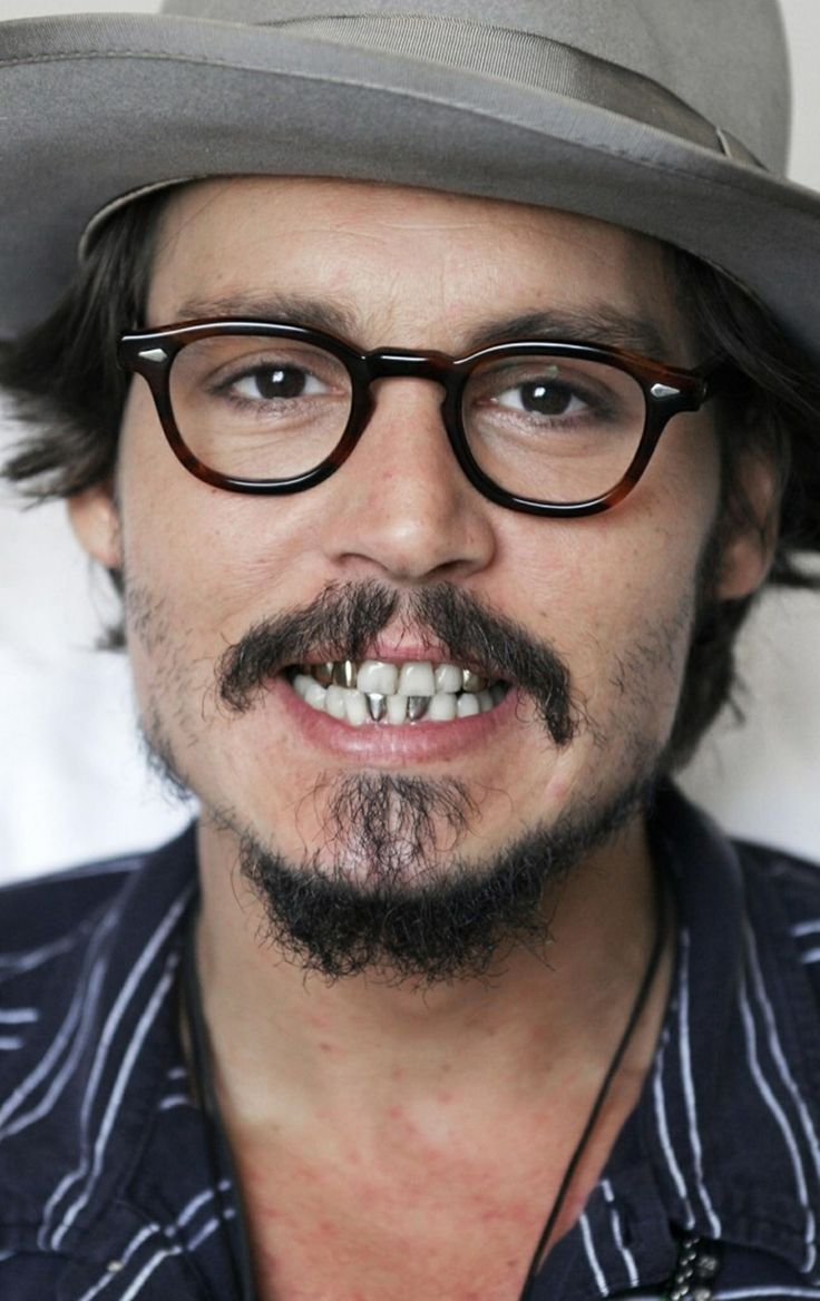 Johnny Depp A pirate smile!