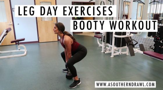 #FitWithASD Video: Leg Day Workout Routine