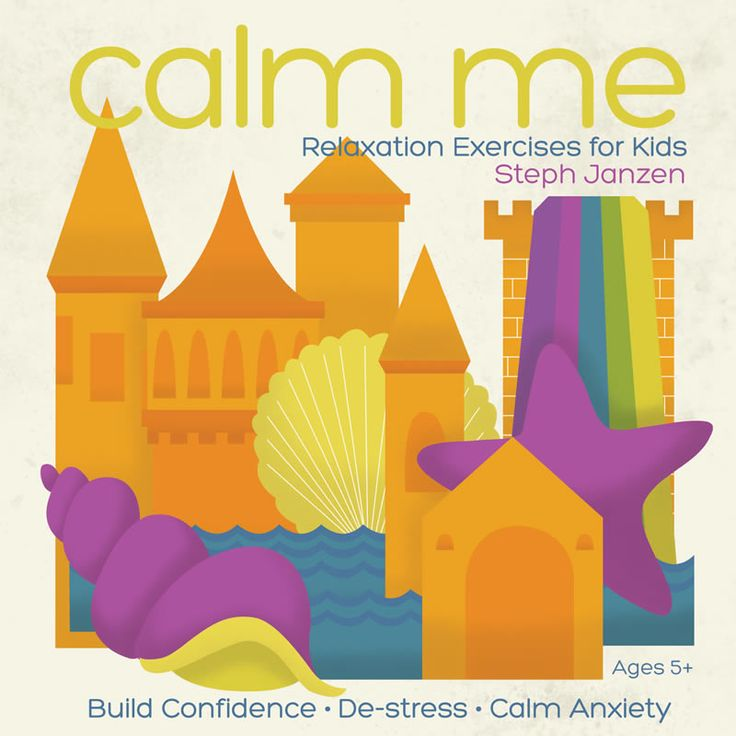 CALM ME: Relaxation Exercises for Kids uses soothing music, meditation, and guided imagery to help kids calm anxiety, sleep better, and build confidence.   Meditation for kids from MindscapesRecords.com.