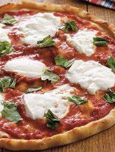 Gluten Free Pizza Margherita Recipe. Perfect on an Absolutely Gluten Free Flatbread! Make it Gluten Free and Visit www.Absolutelygf.com #Glutenfree