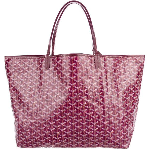 Pre-owned Goyard Goyardine St. Louis GM (€1.435) ❤ liked on Polyvore featuring bags, handbags, burgundy, purse pouch, burgundy handbags, multicolor handbags, goyard purse and man pouch bag