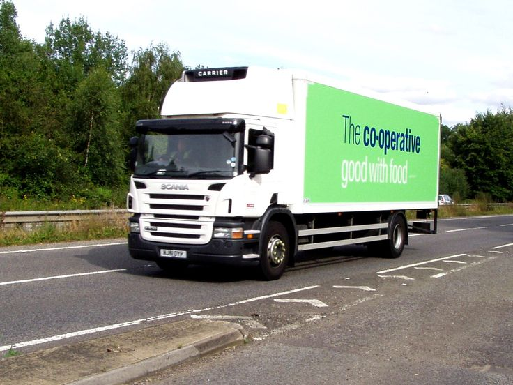 Co-operative Scania Truck in Cornwall.  Photo for sale in Photobox. Please click the 'Visit Site' icon to purchase of for details.  #trucks  #scania #cooperative #lorries  #photography #england #truckphotos #truckspinterest #hgv #hgvtrucks