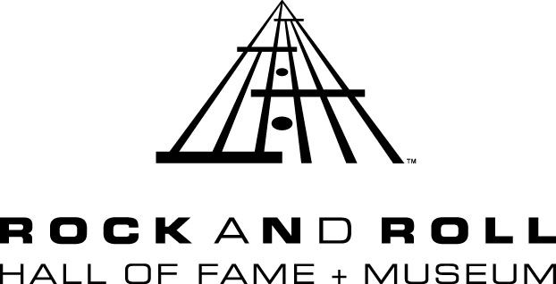 Cleveland Rocks! Rock & Roll Hall of Fame + Museum, located on the shore of Lake Erie in downtown Cleveland, Ohio.
