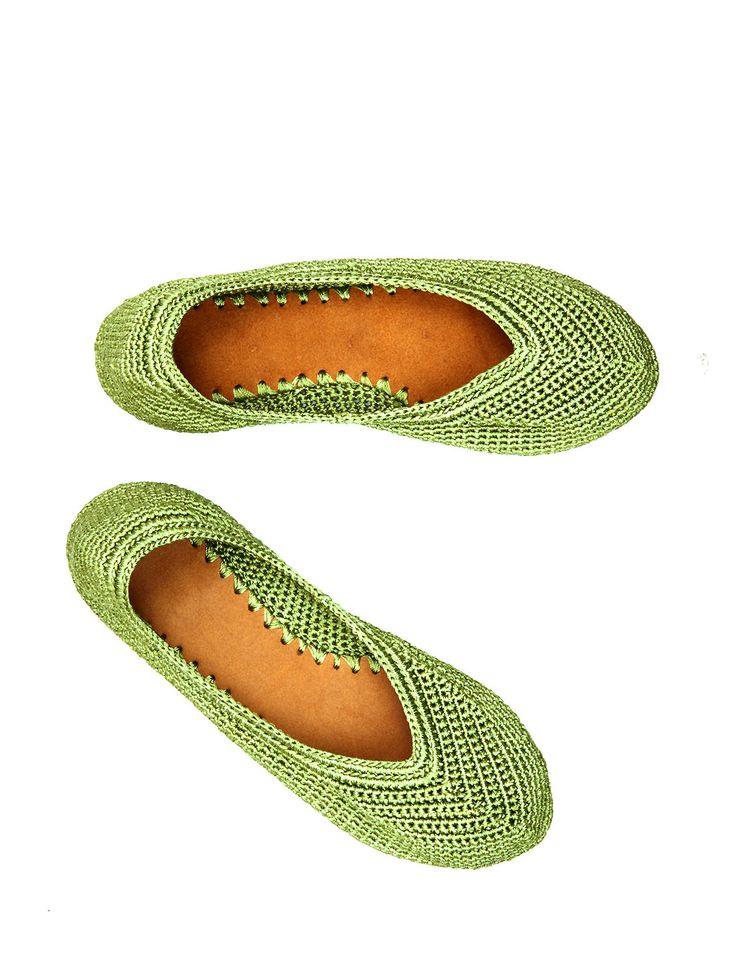 Idea. Zapatillas de ganchillo