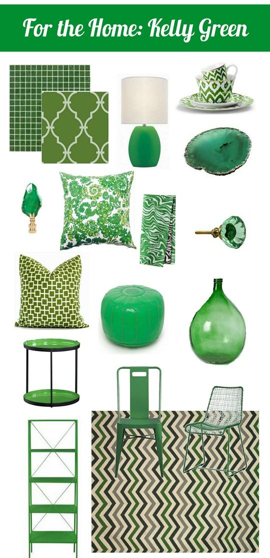 Isn't it funny how colors go in and out of fashion over the years?  One year it's turquoise that's all the rage and the next year it's orange.  This year there's one other color that's appearing everywhere from shelter magazines to home decor and that color is Kelly green. Kelly green isn't a trend in [...]
