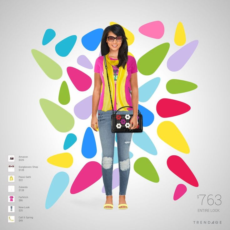 Fashion look with clothes from  New Look, Farfetch, Zalando, Passi Gatti, Sunglasses Shop, Call It Spring, Amazon.