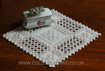 Cols Creations - Traditional Hardanger Designs - The Elegant Mats Collection Make Beautiful Gifts                                                                                                                                                                                 More