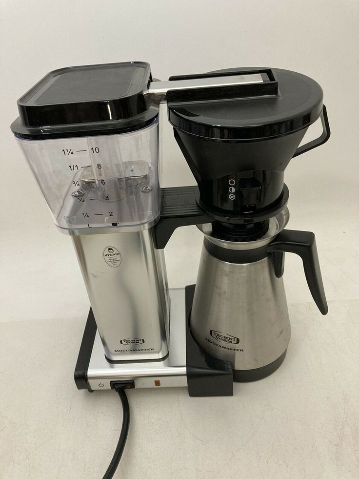 Moccamaster KBT ManualAdjust DripStop 40oz Coffee Maker