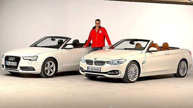 AUTOBILD.DE BMW 4 Series vs. Audi A5