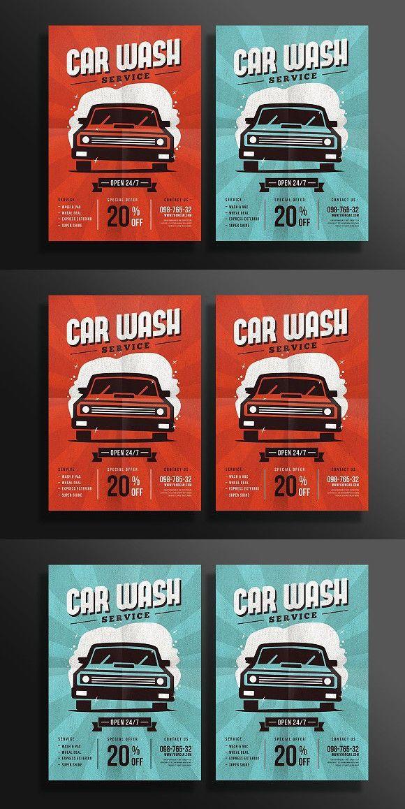 Best  Car Wash Posters Ideas On   Car Wash Wax Self