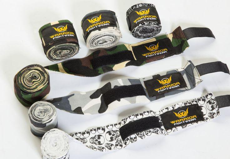 Warrior Fight Wear PRO Cotton Hand Wrap Bandages for Boxing Gloves Punch Bag #boxing #handwraps #bag #punchbag #bandages #muaythai #mma #padwork #jab