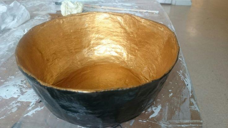 Papermache bowl
