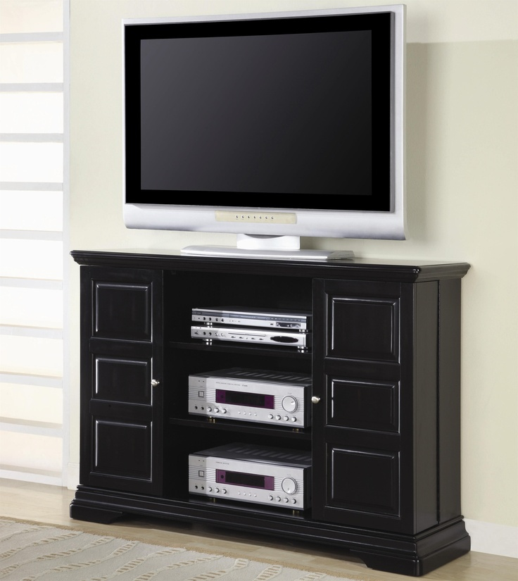 Coaster TV Stands Classic Media Console With Doors And Shelves   Coaster  Fine Furniture