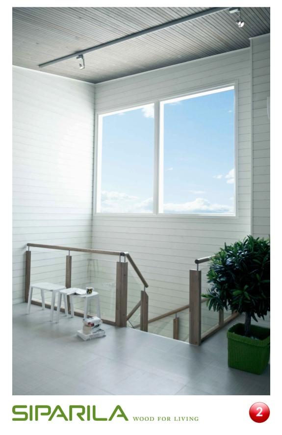 Katossa käytetty suorareunainen KOO sisustuspaneeli kuultava harmaana tuo rauhallista kontrasti valkoisille Struktuuripaneeli seinille.