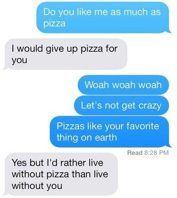 pizzzzzza via Tumblr We Heart It