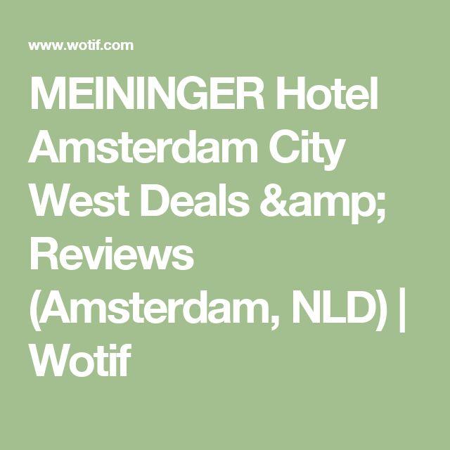 MEININGER Hotel Amsterdam City West Deals & Reviews (Amsterdam, NLD) | Wotif