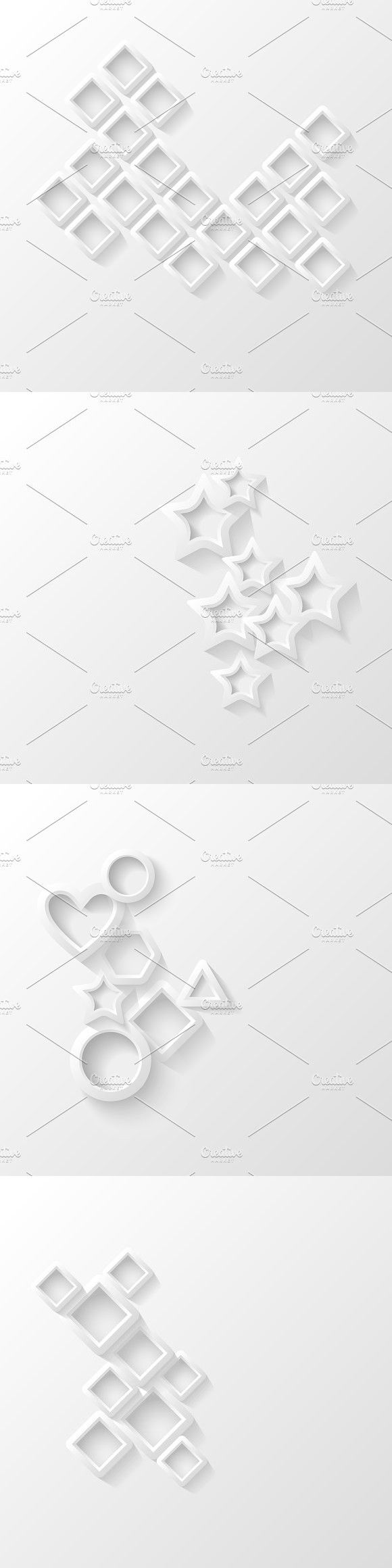 Set of abstract backgrounds. Patterns. $2.00