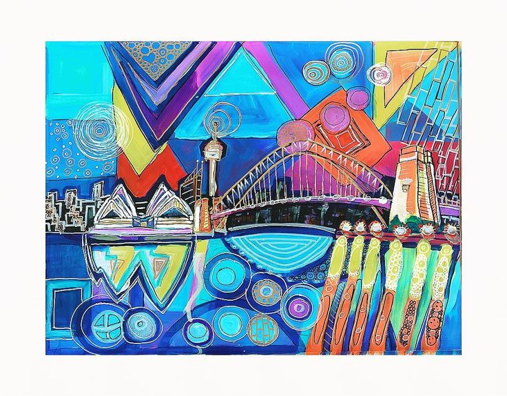 'Sydney Harbour Delight' | Acrylic | A2 canvas sheet | PRICE $100 inc postage | #sydneylife #sydney #sydneyart #sydneyharbour #sydneyharbourbridge #sydneyoperahouse #sydneyartist #gallery #cronulla #bondi #painting #nsw #art #artist #sutherlandshire #gallery #sketch #bundeena #instaart #australia #australianartist #melbourne #goldcoast #melbourneart #australianart #fineart #coogee by rali_hart_artist http://ift.tt/1NRMbNv