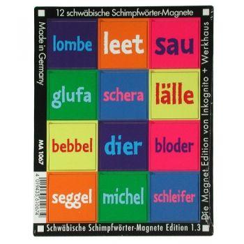 Werkhaus Shop - Schwäbische Schimpfwörter - Edition 1.3