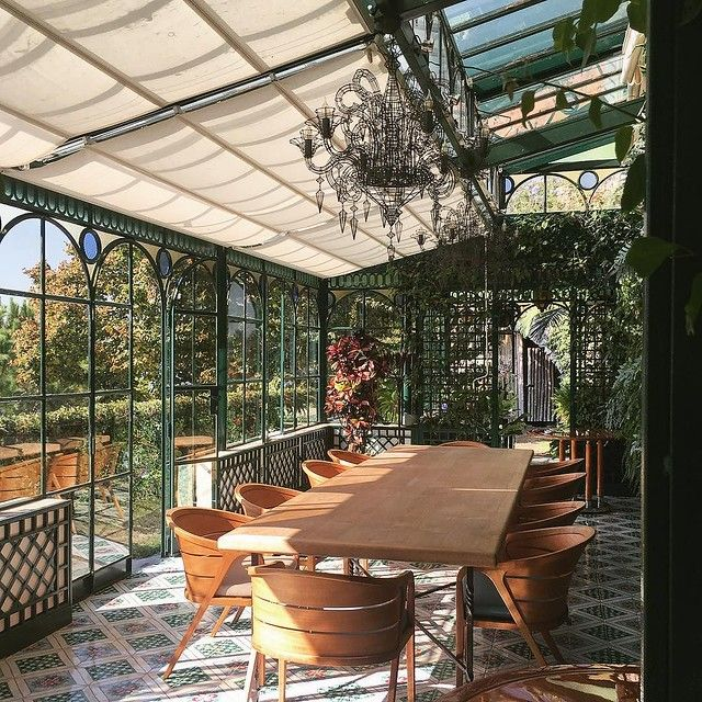 Think Our Next Home Needs A Greenhouse Dining Room