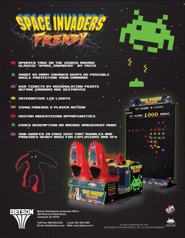 Space Invaders Frenzy 2 Space Invaders Space Invaders Arcade New Arcade Games