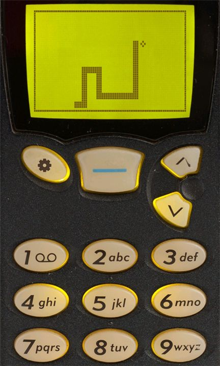 the classic nokia game snake ... classics are best!