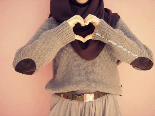 Hijab Style winter