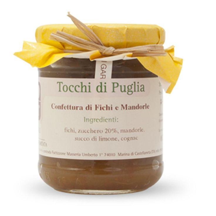 CONFETTURA DI FICHI E MANDORLE GR 260 TOCCHI DI PUGLIA  (070892)