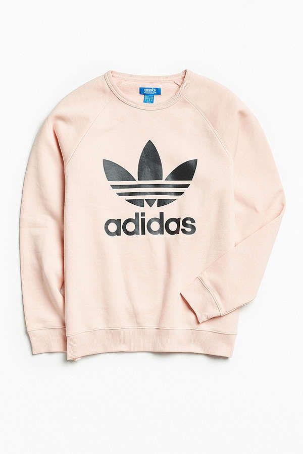 1d99c4cafa1c4 adidas Trefoil Crew Neck Sweatshirt in 2019