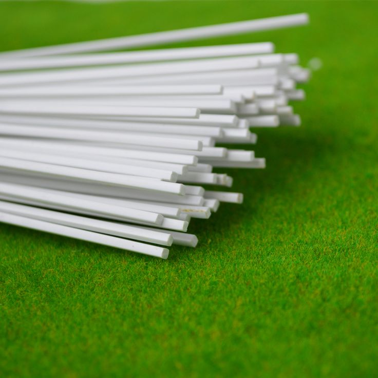 Wholesale - square ROD  ABS Plastic pipe diameter is 1.0mm with 50cm length #Affiliate