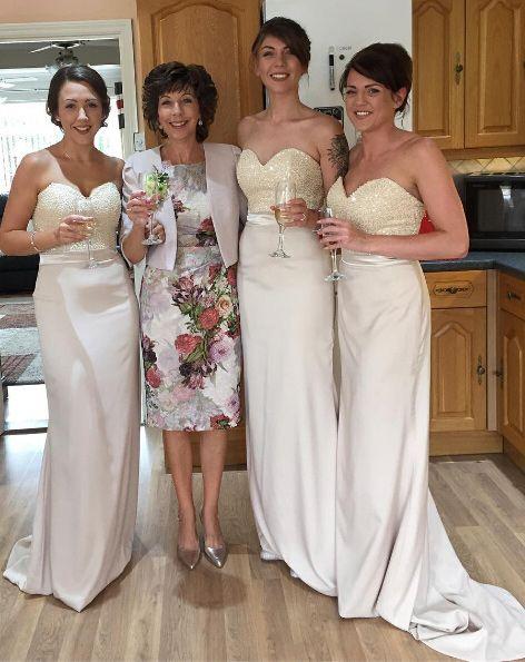 champagne long bridesmaid dresses, bridesmaid dresses long, elegant bridesmaid dresses, cheap bridesmaid dresses, bridesmaid dresses cheap, 2016 bridesmaid dresses, 2017 bridesmaid dresses, bridesmaid dresses long, simple bridesmaid dresses