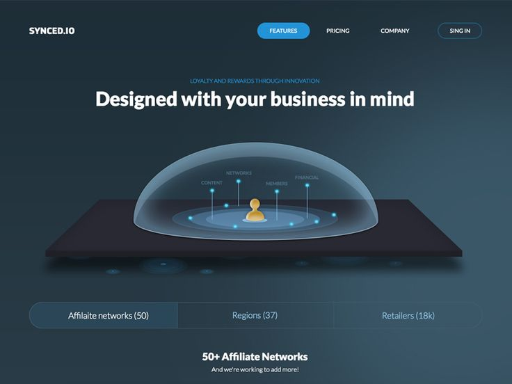 Features page by Marko Prljic