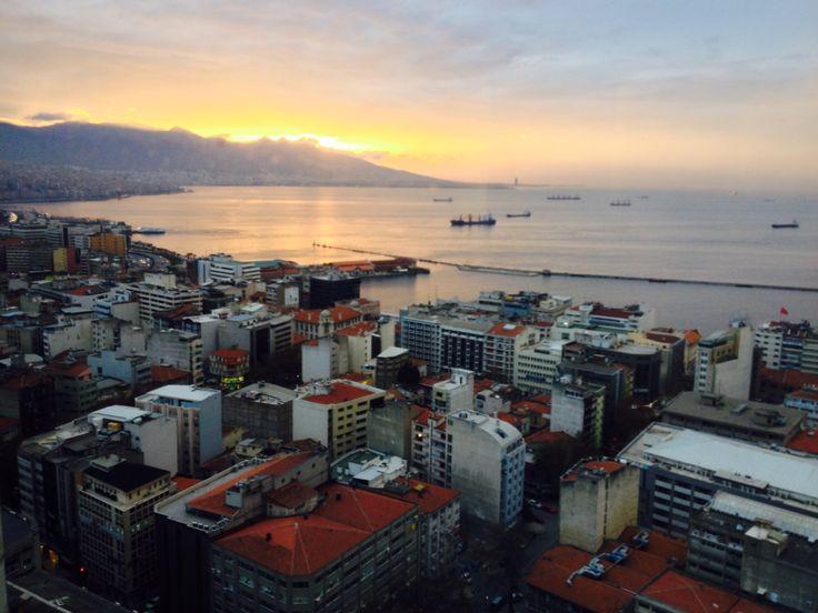 Izmir Turkey view from hotel