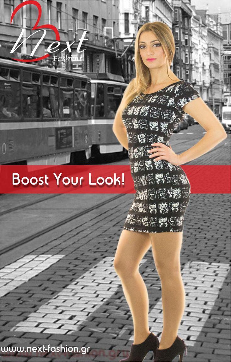 #Φορέματα #Γυναικεία #Μόδα #Women's #Fashion #Dresses #Casual Το Φόρεμα μπορείτε να το βρείτε ΕΔΩ : http://next-fashion.gr/-foremata-/673--forema-konto-stretch-exoplato-konto-maniki-.html