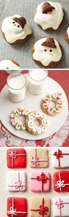 Holiday cookie decorating and #recipes totally making these for the Christmas party at work!