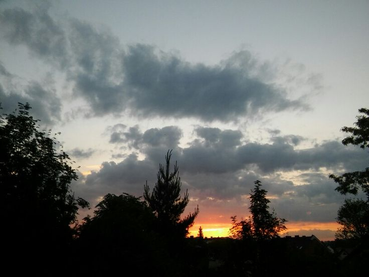 Window sun set