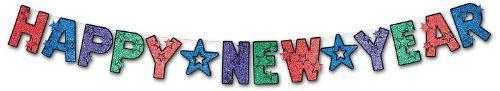 Beistle 1-Pack Glittered Happy New Year Streamer, 8 1/2 by 8 1/2 Beistle http://www.amazon.com/gp/product/B000R4KKZY/ref=as_li_qf_sp_asin_il_tl?ie=UTF8&camp=1789&creative=9325&creativeASIN=B000R4KKZY&linkCode=as2&tag=divinetreas03-20&linkId=QSZN467Y34OEJK5C