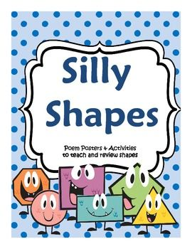 Silly Shapes Introduction to Geometry Poems and Activities