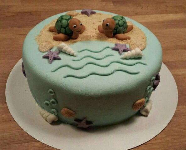 Turtle cake/ schildpad taart