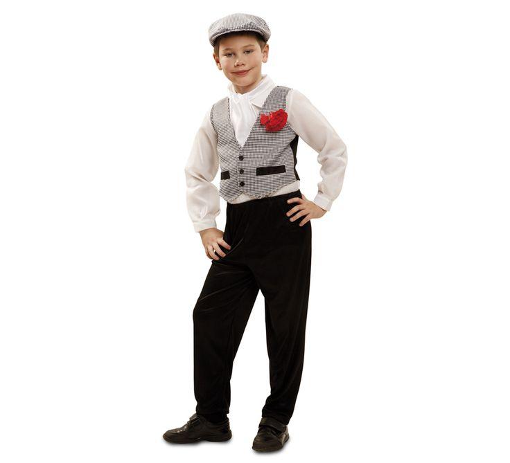 Disfraz de #chulapo o #madrileño para niños. #SanIsidro #Madrid #FeriadeSanIsidro #Disfraz