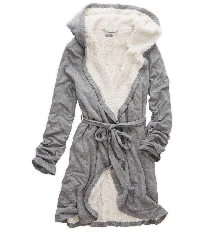 Dark Heather Grey Aerie Cosy Robe Gift – das perfekte Geschenk für das Mädchen, das sich verwöhnen lässt! #Horst