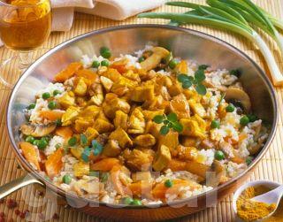 Lajos Mari konyhája - Currys-zöldséges pulykaragu