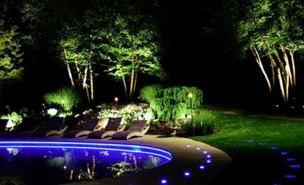 Beleuchtung für den Garten - clevere Tipps zur Gartengestaltung  - http://wohnideenn.de/beleuchtung/11/beleuchtung-fur-den-garten-gartengestaltung.html  #Beleuchtung