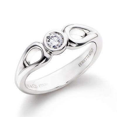Tiffany Tiffany Elsa Peretti Open Teardrop Ring  Our Price: £85.00  £34.00