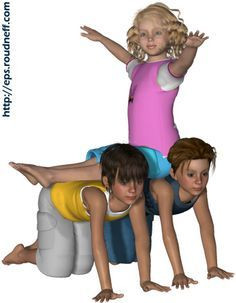 Pinterestbord van Juf Petra- Kleuter gym en beweging
