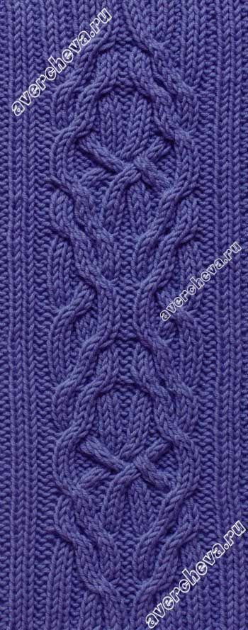 y3op 381 no pattern on avercheva; I think this is the same as http://www.ravelry.com/patterns/library/frost-set-scarf