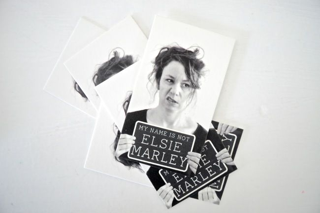 elsie marley business cards